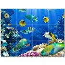 Coral Fish Underwater Ceramic Tile Mural Kitchen Backsplash Bathroom Shower 403015