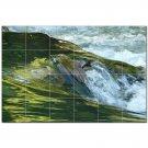 River Ceramic Tile Mural Kitchen Backsplash Bathroom Shower 401477