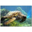 Turtle Ceramic Tile Mural Kitchen Backsplash Bathroom Shower 402930