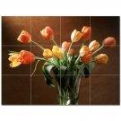 Flower Picture Ceramic Tile Mural Kitchen Backsplash Bathroom Shower 404996