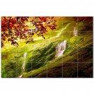 Waterfalls Ceramic Tile Mural Kitchen Backsplash Bathroom Shower 401814
