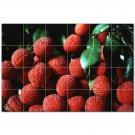 Fruits Vegetables Ceramic Tile Mural Kitchen Backsplash Bathroom Shower 405209