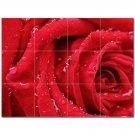 Flowers Ceramic Tile Mural Kitchen Backsplash Bathroom Shower 402308