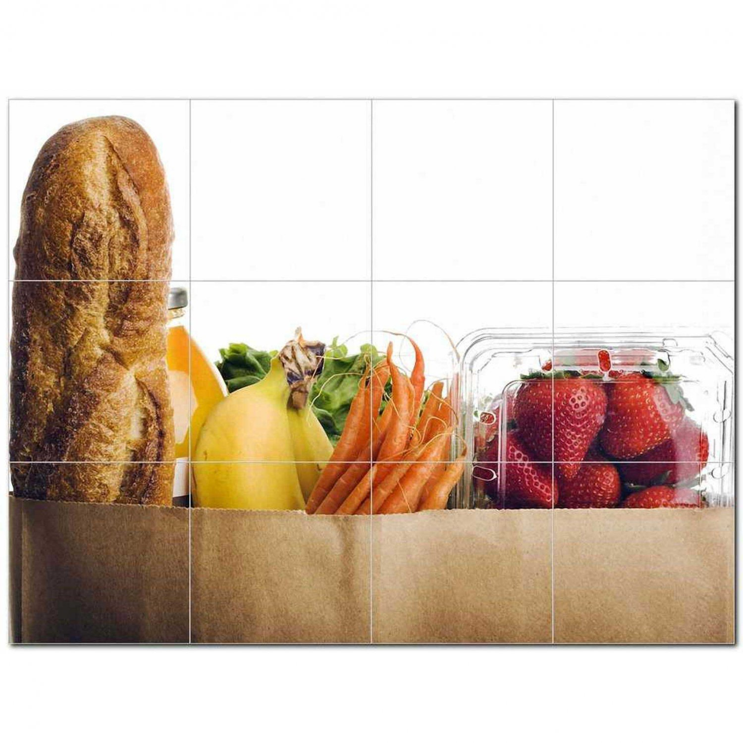 Food Photo Ceramic Tile Mural Kitchen Backsplash Bathroom Shower 405111