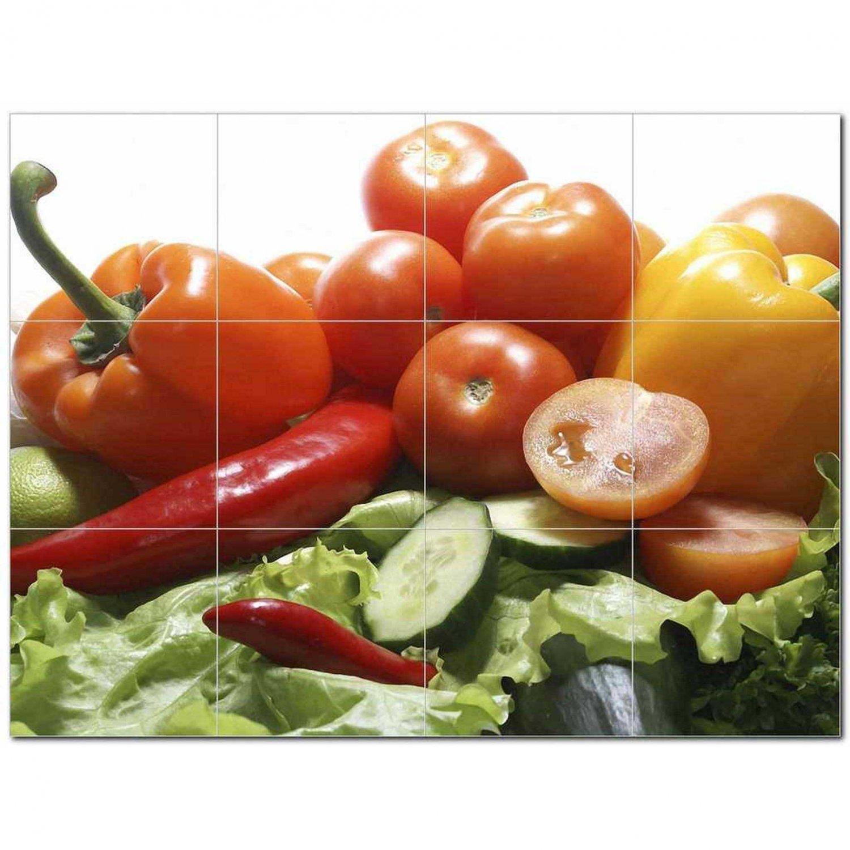 Food Picture Ceramic Tile Mural Kitchen Backsplash Bathroom Shower 405144