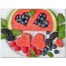 Fruit Food Ceramic Tile Mural Kitchen Backsplash Bathroom Shower 400631