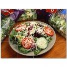 Fruits Vegetables Ceramic Tile Mural Kitchen Backsplash Bathroom Shower 405226