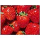 Fruits Vegetables Ceramic Tile Mural Kitchen Backsplash Bathroom Shower 405233