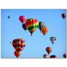 Hot Air Balloon Ceramic Tile Mural Kitchen Backsplash Bathroom Shower 400690
