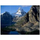 Mountain Scene Ceramic Tile Mural Kitchen Backsplash Bathroom Shower 405602