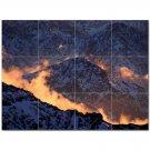 Mountain Scene Ceramic Tile Mural Kitchen Backsplash Bathroom Shower 405607