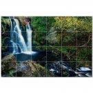 Waterfalls Ceramic Tile Mural Kitchen Backsplash Bathroom Shower 401878