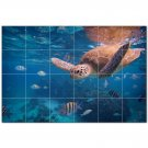 Turtle Ceramic Tile Mural Kitchen Backsplash Bathroom Shower 402958