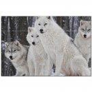 Wolf Wolves Ceramic Tile Mural Kitchen Backsplash Bathroom Shower 403117
