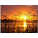 Sunset Photo Ceramic Tile Mural Kitchen Backsplash Bathroom Shower 405932