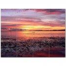 Sunset Picture Ceramic Tile Mural Kitchen Backsplash Bathroom Shower 405961