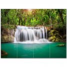 Waterfall Photo Ceramic Tile Mural Kitchen Backsplash Bathroom Shower 406141