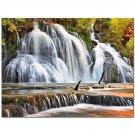 Waterfall Picture Ceramic Tile Mural Kitchen Backsplash Bathroom Shower 406177