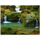 Waterfall Picture Ceramic Tile Mural Kitchen Backsplash Bathroom Shower 406178