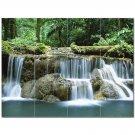 Waterfall Picture Ceramic Tile Mural Kitchen Backsplash Bathroom Shower 406180