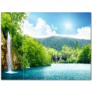 Waterfall Picture Ceramic Tile Mural Kitchen Backsplash Bathroom Shower 406181