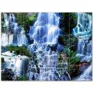 Waterfall Picture Ceramic Tile Mural Kitchen Backsplash Bathroom Shower 406183