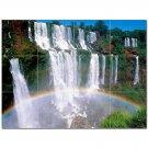 Waterfall Picture Ceramic Tile Mural Kitchen Backsplash Bathroom Shower 406185