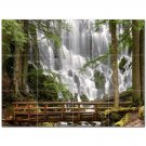 Waterfall Picture Ceramic Tile Mural Kitchen Backsplash Bathroom Shower 406190