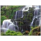 Waterfall Picture Ceramic Tile Mural Kitchen Backsplash Bathroom Shower 406195