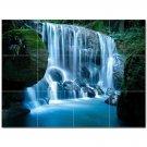 Waterfall Picture Ceramic Tile Mural Kitchen Backsplash Bathroom Shower 406200