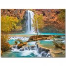 Waterfall Picture Ceramic Tile Mural Kitchen Backsplash Bathroom Shower 406202