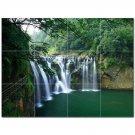 Waterfall Picture Ceramic Tile Mural Kitchen Backsplash Bathroom Shower 406203