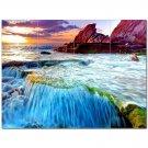 Waterfall Picture Ceramic Tile Mural Kitchen Backsplash Bathroom Shower 406205