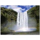 Waterfall Picture Ceramic Tile Mural Kitchen Backsplash Bathroom Shower 406210