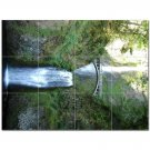 Waterfall Picture Ceramic Tile Mural Kitchen Backsplash Bathroom Shower 406211