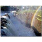 Waterfalls Nature.Npsh Ceramic Tile Mural Kitchen Backsplash Bathroom Shower 406212