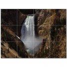 Waterfalls Pdphotoh Ceramic Tile Mural Kitchen Backsplash Bathroom Shower 406215