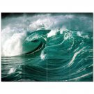 Wave Picture Ceramic Tile Mural Kitchen Backsplash Bathroom Shower 406301