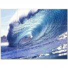 Wave Picture Ceramic Tile Mural Kitchen Backsplash Bathroom Shower 406306