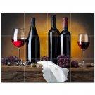 Wine Grapes Ceramic Tile Mural Kitchen Backsplash Bathroom Shower 406371
