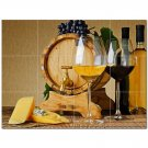 Wine Grapes Ceramic Tile Mural Kitchen Backsplash Bathroom Shower 406378