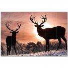 Deer Ceramic Tile Mural Kitchen Backsplash Bathroom Shower 402714