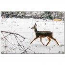 Deer Ceramic Tile Mural Kitchen Backsplash Bathroom Shower 402754