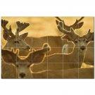 Deer Ceramic Tile Mural Kitchen Backsplash Bathroom Shower 402760