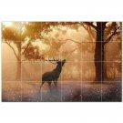 Deer Ceramic Tile Mural Kitchen Backsplash Bathroom Shower 402772