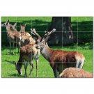 Deer Ceramic Tile Mural Kitchen Backsplash Bathroom Shower 402778