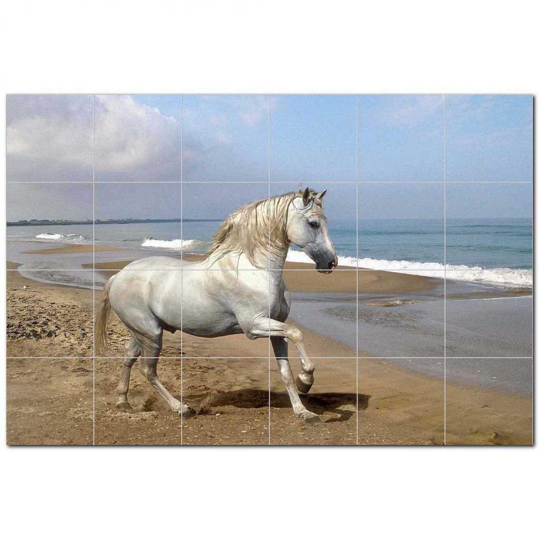 Horse Picture Ceramic Tile Mural Kitchen Backsplash Bathroom Shower 405288