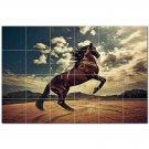 Horse Picture Ceramic Tile Mural Kitchen Backsplash Bathroom Shower 405292