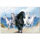 Horse Picture Ceramic Tile Mural Kitchen Backsplash Bathroom Shower 405311
