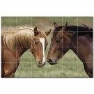 Horse Picture Ceramic Tile Mural Kitchen Backsplash Bathroom Shower 405315